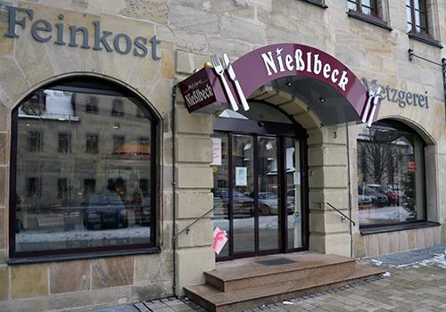 Metzgerei Nießlbeck Filiale in Altdorf Oberer Markt