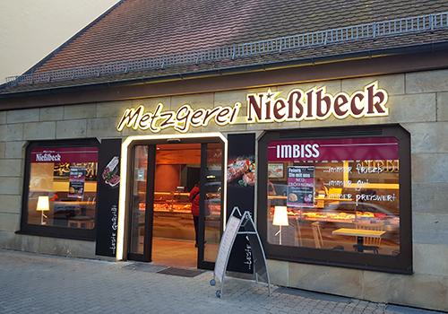 Metzgerei Nießlbeck Filiale in Erlangen Fürther Straße
