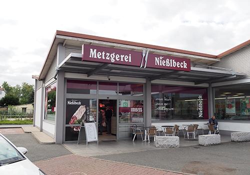 Metzgerei Nießlbeck Filiale in Schwabach